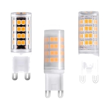 3W 2835 SMD 52 LED Light Bulb G9 Transparent/Milky/Black Type Corn LED Lamp Replace Halogen AC100-265V Warm Pure White(China)