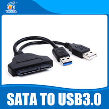 "VEINEDA SATA3 USB3.0 To SATA Cable for 2.5"" SSD Internal Exteral HDD Data Cable with OTG Function Instead 2.5"" HDD case(China)"