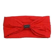 JEYL Sports Headbands For Women Hair Accessories Turban Headwear RED