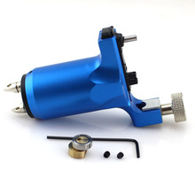 New beginner tattoo rotary machine supply Blue Iron tattoo machine for shade