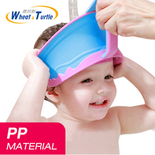 Hair Wash Shampoo Shield Waterproof Splashguard for Infant Children Baby Kids Bath Visor Hat Adjustable Baby Shower Protect Cap(China)