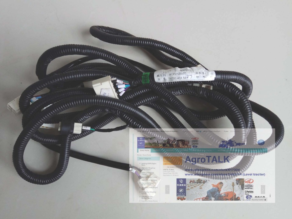 TA700.484.1a , the wire harness for Foton TA series tractor, please check the code number when order<br>