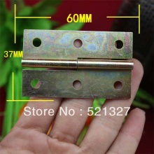 60 * 37MM plating color screens hinge cabinet hinge glass door hinge metal hinge
