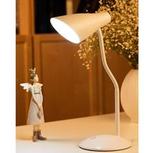 Touch Sensor Table Lamp USB Charged Eye-Care Dimmer Goose Neck Flexible Night Light LED Reading Lamp For Home Office