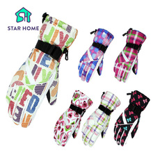 Star Home Brand Men Women Skiing Gloves Waterproof Motorcycle Winter Cycling Snowboard Ski Gloves Warm Ride Thick Gloves(China)