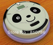 4 In 1 Multifunctional Robotic Vacuum Cleaner With Panda Face,Dirt Detection Function,Schedule Work,Self Charge