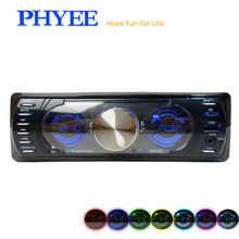 SX-MP33300BT Dual Screen High Power Auto Radio Bluetooth Car Stereo Audio USB MP3 TF AUX ISO Remotes PHYEE Original(China)