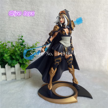 LOL The Frost Archer Ashe 25cm PVC Action Figures Toys Model Plastic Doll Game Statue Craft Gift