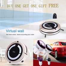 Free Shipping Onezili Robotic floor Cleaning Robot Vacuum Cleaner Household Robotic Vacuum Cleaner for Home(China)