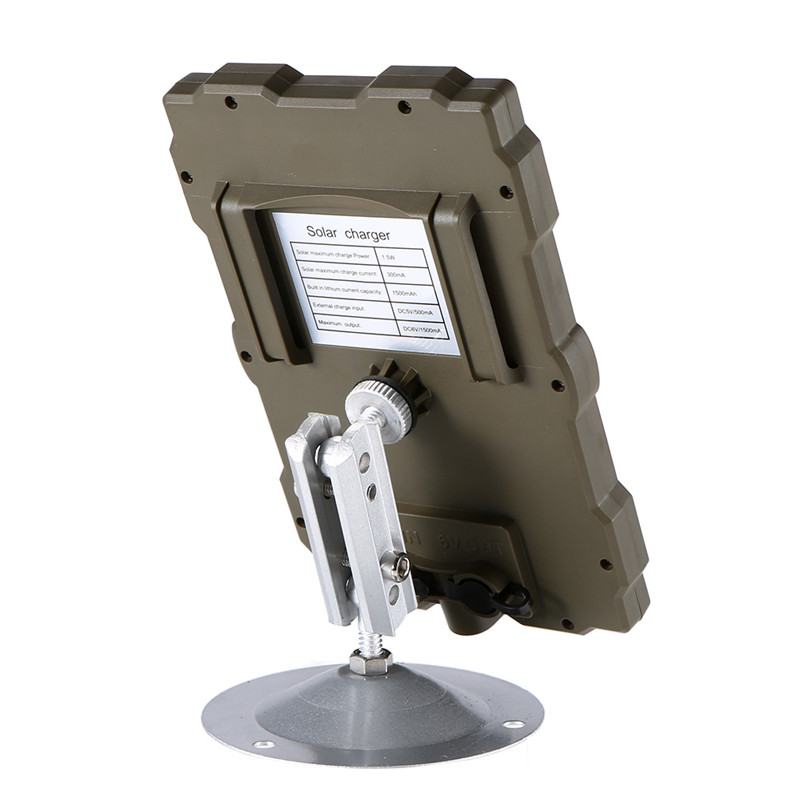Outdoor Hunting Camera Battery Solar Panel Power Charger External Panel Power for Wild Camera Photo-traps H801 H885 H9 H3 H501 (5)