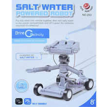 brine water power robot kit model,Green Science Fair Recycle Craft brine Energy kit,kid educational puzzle toys