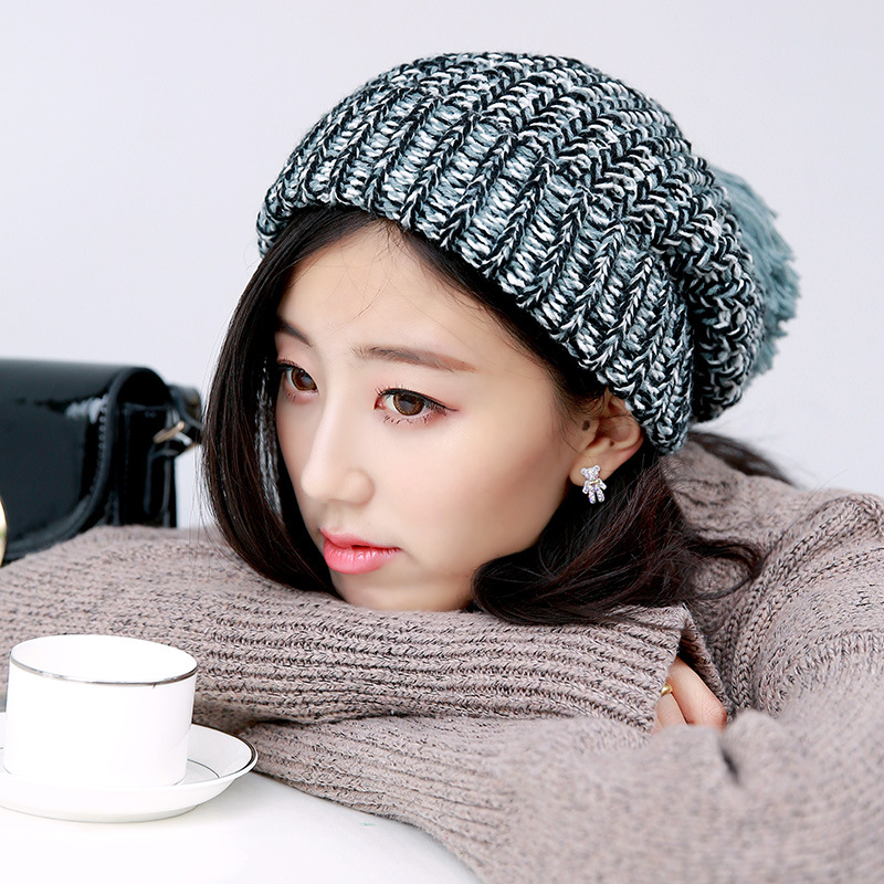 Fashion Women New Design Caps Beanie Pattern Solid Color Women Warm Winter Hat Knitted Sweater Fashion Hats 4 ColorsОдежда и ак�е��уары<br><br><br>Aliexpress