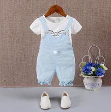 2016 new spring autumn baby girls clothing set children hoodies cotton girls t-shirts+pants sport suit set children outerwear