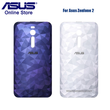 Original Phone Case ASUS Zenfone 2 Deluxe ZE551ML ZE550ML Z008D Z00AD Back Cover Rear Battery Cover with Power Button and NFC(China)