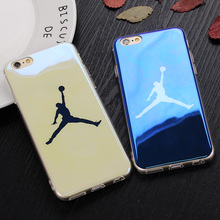 Ultra Thin Blu-ray Michael Jordan Case For iphone 7 7 Plus Silicone Soft Cases Back Cover Fundas for iPhone 6 6s 6 Plus Shell