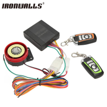 Ironwalls Motorcycle Alarm System Anti-theft Security Alarm Protection Remote Control 150M Universal Scooter Chopper Motor Bike(China)