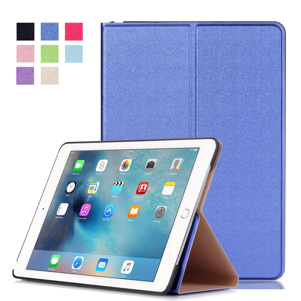 Hot Sale For Apple iPad Pro 9.7 Magnet Flip PU Leather Case Tablet Smart Slim Cover Auto Sleep&amp;Wake Up<br><br>Aliexpress