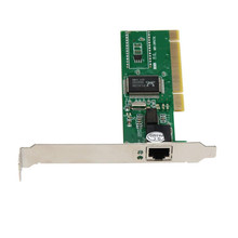 Reliable 2017 10/100 Mbps NIC RJ45 RTL8139D LAN Network PCI Card Adapter for Computer PC Fully comply with PCI 2.2 bus