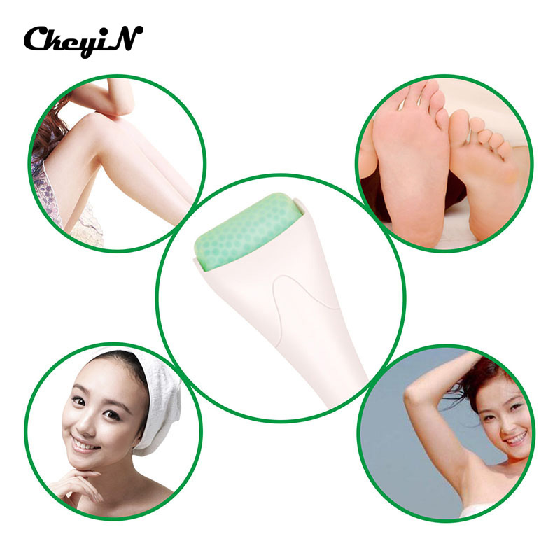 Facial Ice Roller Face Body Massager Cool Ice Roller Massage Skin Preventing Wrinkles Iced Wheel Beauty Health Care<br><br>Aliexpress