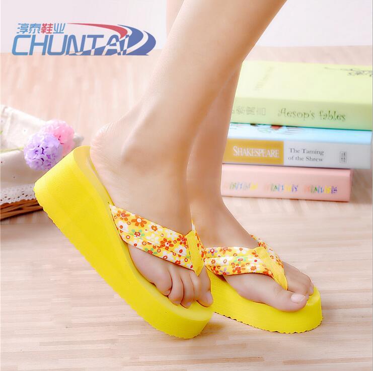 New Listing Hot Sales summer fashion women sandals flip flops shoes High-heeled shoes women multicolor sandals jx0071<br><br>Aliexpress