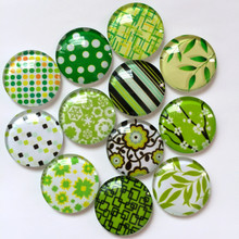 ZEROUP Round Glass Cabochon 12mm Mixed Pattern Handmade Diy embellishments Supplies for jewelry clasps craft 50pcs TP-385
