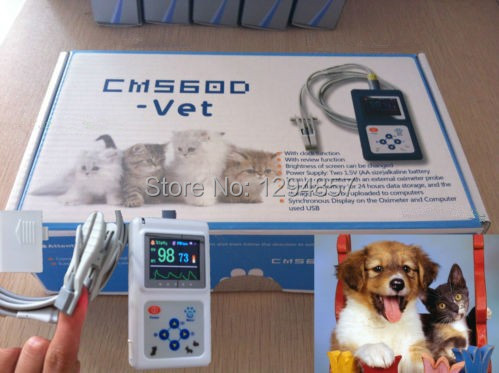 CE FDA  pulse oximeter for animals oximeter for pet veterinary pulse oximeter<br><br>Aliexpress