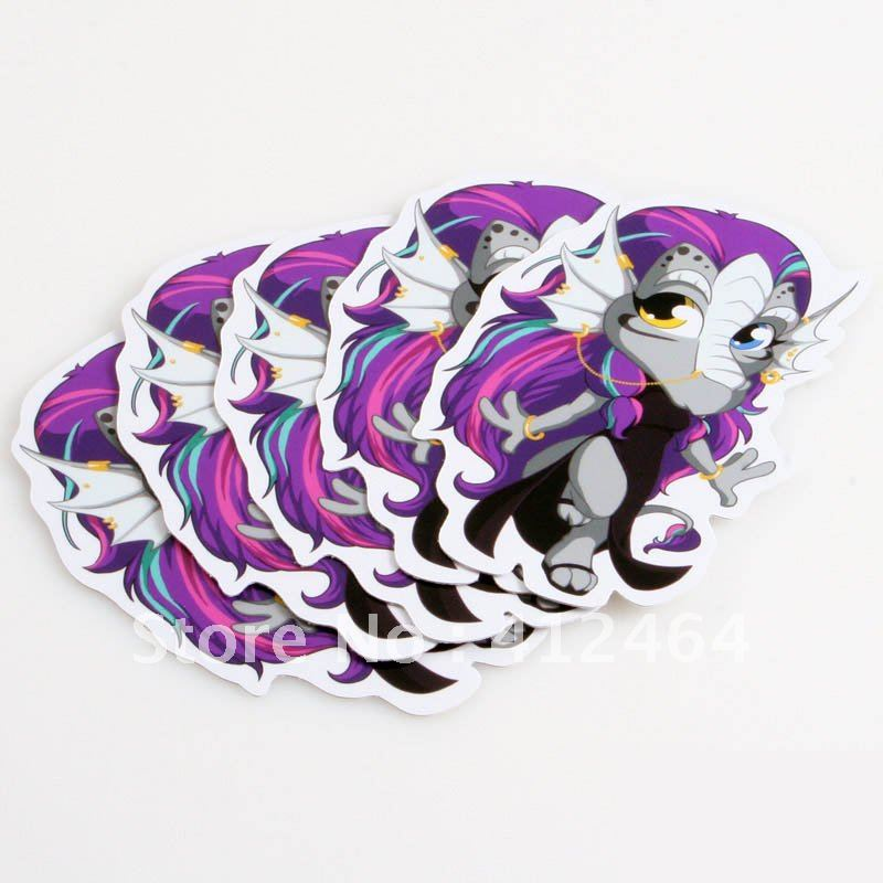 Low price and high quality die cut sticker (ss-819)(China (Mainland))