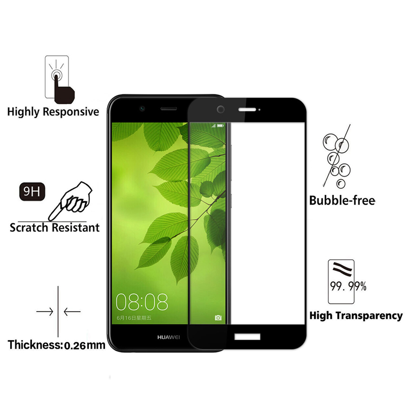 2pcs-Tempered-Glass-For-Huawei-Nova2-5-0-Screen-Protector-Ultra-Thin-Full-Cover-Protector-Glass