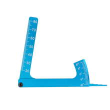 Adjustable Ruler Measure RC Car Height & Wheel Rim Camber for 1/10 1/8 On-road RC Car Parts