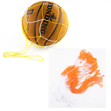 5Pcs/Lot Portable Nylon Ball Mesh Net Bag Soccer Football Basketball Volleyball Holder
