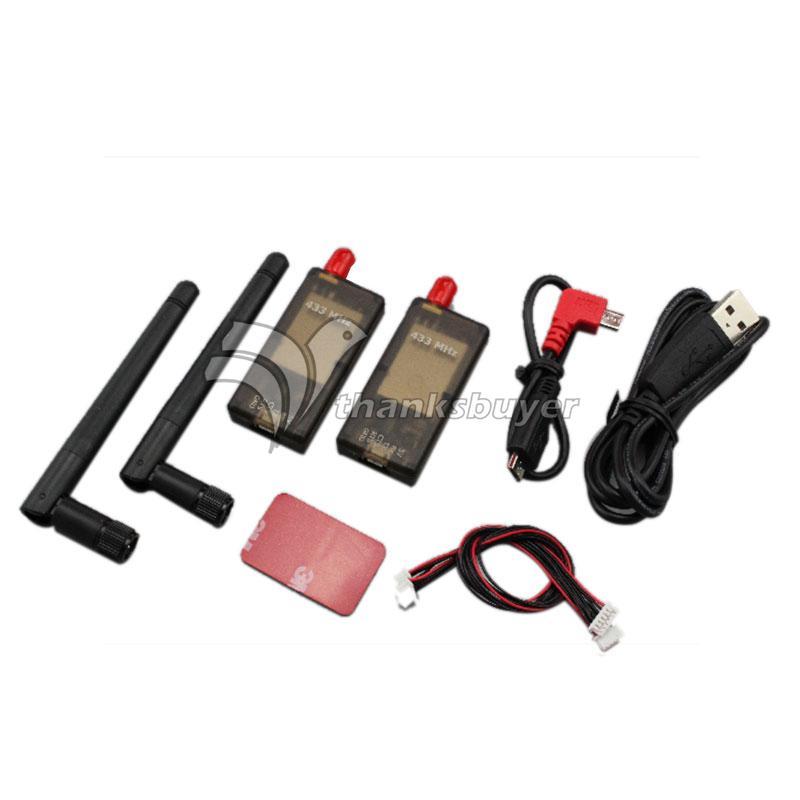 500MW 3DR Wireless Data Transmission TX RX Dual TTL Pirate MWC for APM PIXHAWK Flight Control<br><br>Aliexpress