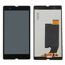 For Sony Xperia Z L36h L36i C6601 C6602 C6603 C6606 C660x LCD Display Touch Screen Digitizer + Adhesive+Film+Tools,Free shipping