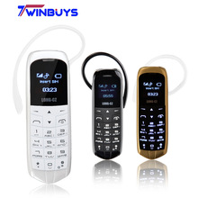 Long-CZ J8 bluetooth Dialer mini mobile Phone 0.66 inch with Hands Free Support FM Radio, Micro SIM Card, GSM Network