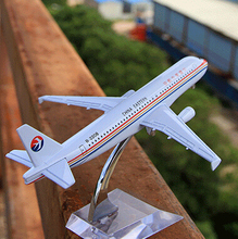 Terebo China Eastern Airlines A320 passenger plane alloy model 16CM/6.3in