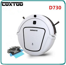 COXTOD Seebest D730 Automatic Robotic Vacuum Cleaner for Home with LCD Remote Control, Automatic Water Tank