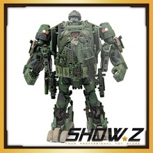 [Show.Z Store] WEIJIANG HOUND V2.0 Transformation WeiJiang Film Oversized Hound Metal Part Action Figure Toys In Box
