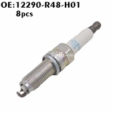 New 8PCS 12290-R48-H01 High Performance Iridium Spark Plug 12290 R48 H01 ILZKR7B 11S For Honda Accord Acura MDX TL TSX(China)
