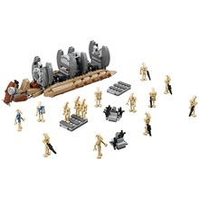 Bela Battle Droid Troop Carrier Star Wars Set 565 Pcs Mini Bricks Single Sale Models & Building Blocks Toys for Children legoing(China)