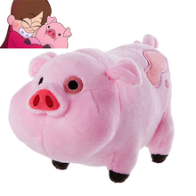 Cartoon TV Movie Gravity Falls Plush Toy Dipper Mabel Pink Pig Waddles Stuffed Soft Dolls Kids Birthday Gifts Wholesale Toys(China)