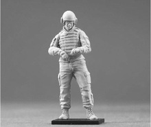 Resin Kits 1/35 Modern American Armored Force standing Unpainted Kit Resin Model Free Shipping(China)