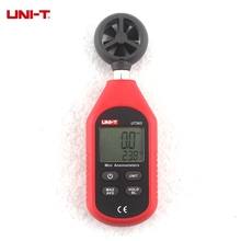 UNI-T UT363 Digital Wind Speed Tester Mini Anemometer 0-30m/s Air Flow Monitor C/F Temperature Meter(China)