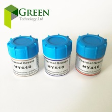 10gx3 Thermal Grease Heatsink Compound Paste For CPU GPU VGA HY410 White / HY510 Gray / HY610 Gold One of each(China)
