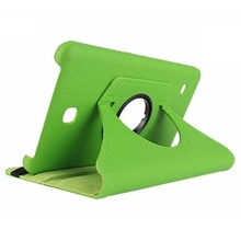 Cases For Samsung Galaxy Tab 4 Tablet SM-T230 SM-T231 360 degree Rotation Housing (green)