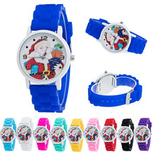 Dropship Candy Color Christmas Gifts Unisex Watch 2017 New Arrival Male Female Silicone Watch Wristwatch for Boys Girls Montre(China)