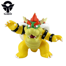 "Super Mario Bros Koopa king dinosaur bowser mini pvc action figures Cute model doll kids Hot Toys for Children birthday gift 5""(China)"
