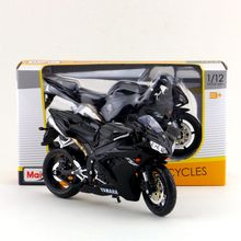 Maisto/1:12 Scale/Simulation Diecast model motorcycle toy/YAMAHA YZF-R1 Supercross/Delicate children's toy or colllection