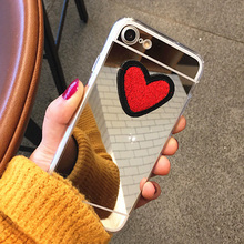 Buy LOVECOM Luxury Ultra Thin Love Heart Mirror Phone Back Cover Xiaomi Redmi Note 3 Note 2 Note 4 3S 4A Phone Case Shell Capa for $1.40 in AliExpress store