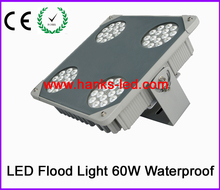 2015 Newest product led flood light 60w for gas station and warehouse use free shipping(China)