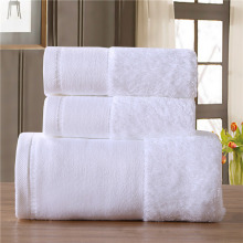 3-Pieces Embroidered Hotel Luxury Towels Cotton Towel Set Face Bath Towels For Adults Washcloths High Absorbent toalha de banho