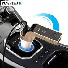 Wireless Car MP3 Music Player LCD Display Bluetooth Audio Receiver FM Transmitter Radio Support TF Card USB Port Mic